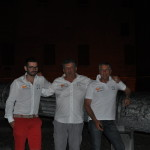 Wing Electronic Gliding Team -  (da dx) Antonio, Ezio, Michele