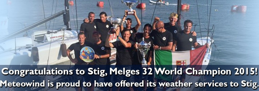STIG WORLD CHAMPION MELGES 32- 2015